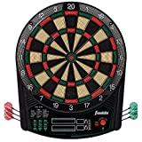 Franklin Sports Electronic Dartboard Set - Digital Dartboard with Scoreboard - Official Size 15.5' - Safe Soft Tip Dartboard - FS6000