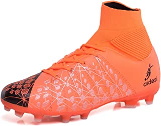 LEODI Men s Women Kids Football Boots Soccer Shoes Outdoor Cleats Non-Slip  Sneakers d39eb742a6