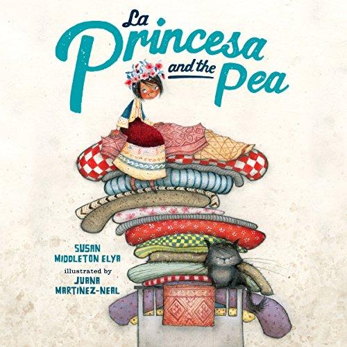 La Princesa and the Pea audiobook cover art