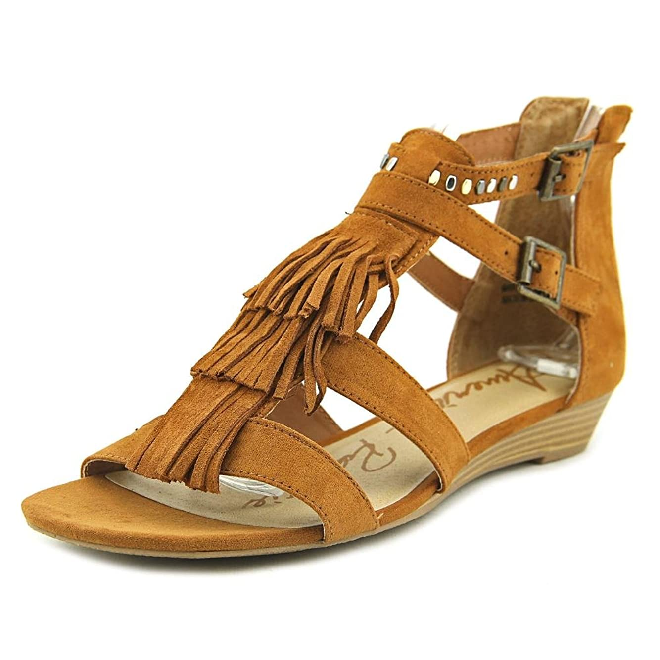 技術的な大学院敬なAmerican Rag Womens Leah Open Toe Casual Wedged Sandals