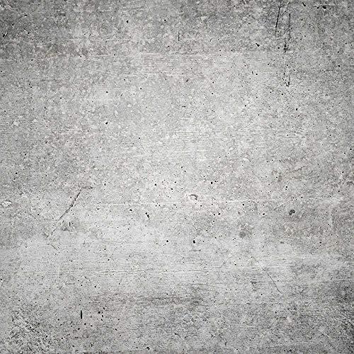 FORWALL AMF12137_P - Carta da parati fotografica, effetto cemento, motivo: murale, Nero/Grigio, P8 (368cm. x 254cm.)