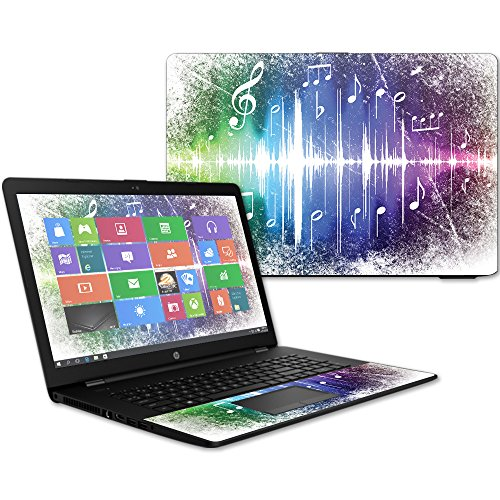 MightySkins Skin Compatible with HP 17t Laptop 17.3' (2017) - Music Man | Protective, Durable, and Unique Vinyl Decal wrap Cover | Easy to Apply, Remove, and Change Styles | Made in The USA