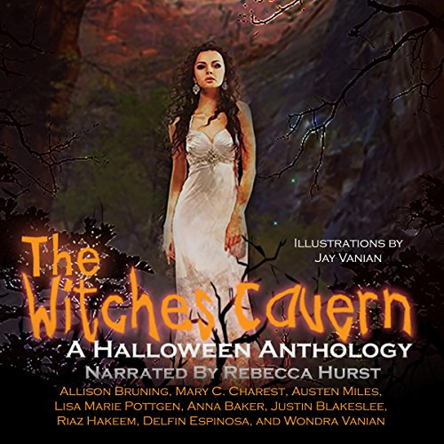 The Witches Cavern audiobook cover art