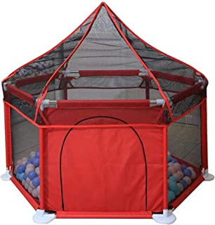 CXHMYC Playpens  children s play tents  infant sorting center for sorting  breathable net  easy install  repellent mosquito  128x66 5