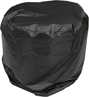 BESPORTBLE Gas Grill Cover BBQ Cover Round Shape Waterproof Oxford Cloth Cover for Household Appliances Gas Grill