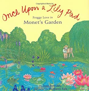 Once Upon a Lily Pad: Froggy Love in Monet's Garden