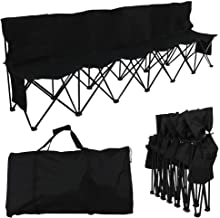 Best 4 seat portable soccer bench Reviews