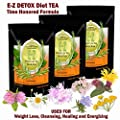 E-Z Detox Tea - Natural Weight Loss, Appetite Control, Body Cleanse. Proven Weight Loss Diet Tea ...