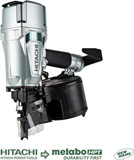 Hitachi NV83A5 Coil Framing Nailer with Rafter Hook, 3-1/4