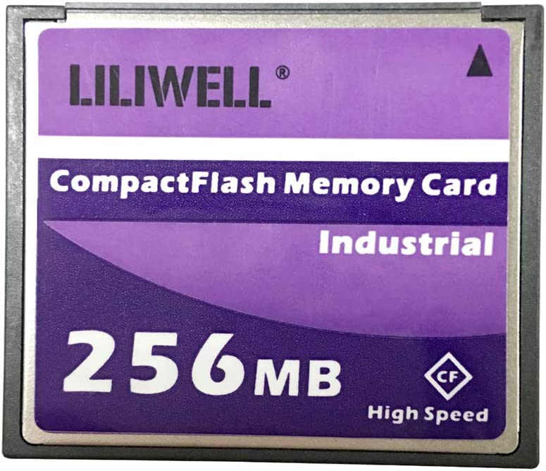 LILIWELL Original 256 MB CompactFlash Card Industrial High Speed Digital Camera CNC Flash Memory Card 256M