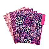 Vera Bradley File Folders in Katalina Pink 14875-330