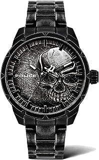 Police Hommes Analogique Quartz Montre avec Bracelet en Acier Inoxydable PL15715JSQU.78M
