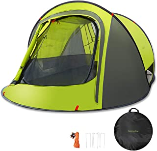 Sunnychic Pop Up Tent Camping Tent, Automatic Instant Setup Pop Up Instant Tent with Sun Shelter UV Protection, Portable 2...