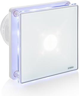 STERR - Extractor de baño con retroiluminación LED y un
