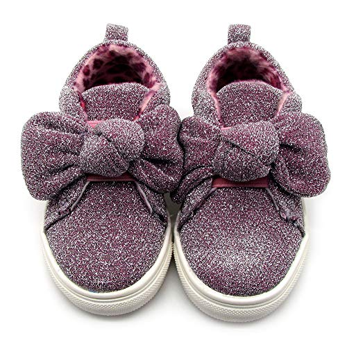 Nicole Miller New York Toddler Girls Slip-On Shoes Light Weight, Casual Walking and Running Shoes- Pink Size 10 5 Years