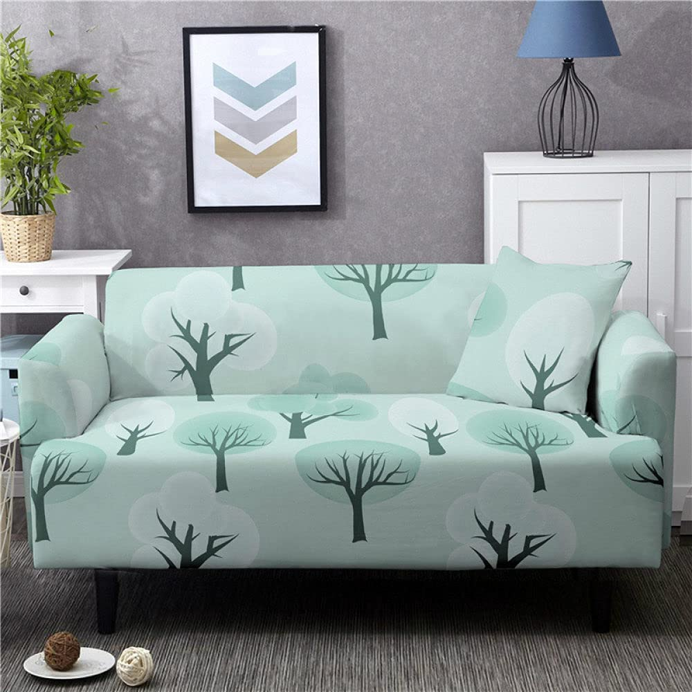 forros para Muebles Sofas Couch Cover Light Cheap SALE Start Sale Special Price Cartoon Print B Tree