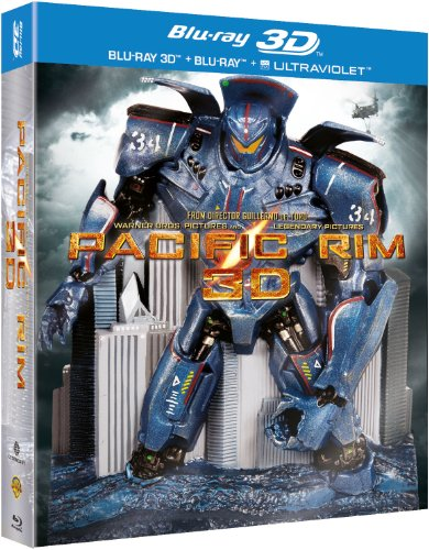 "3 Blu-Ray Box Set "" Pacific Rim "" 3D Limited Edition Robot Pack"