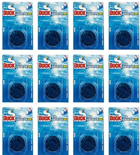 12 x DUCK WC Pastiglie Per Cassetta