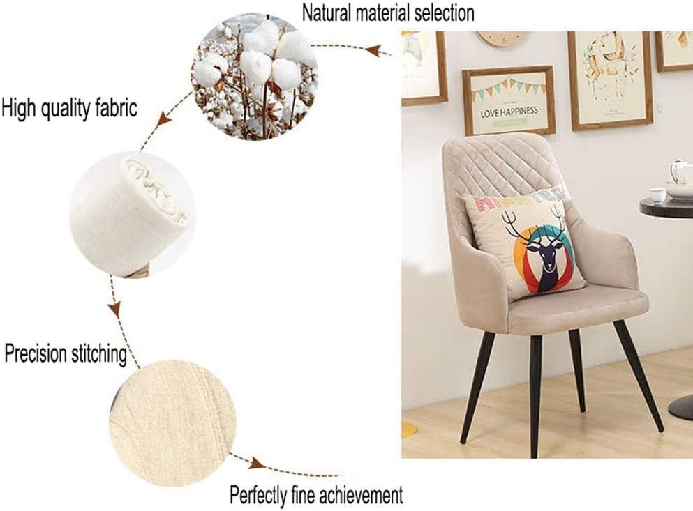 YUMUO Chaise de Salle à Manger Design Moderne, fauteuils Lounge rétro Premuim Bois Plastique et Cuir PU Lorenzo Tulip Chair (Couleur: Bleu) 4