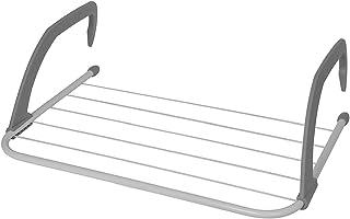 OurHouse - Aireador Giratorio de 4 Brazos con Recubrimiento en Polvo, Acero, plástico, Plateado, 35.50 x 52.00 x 16.50 cm