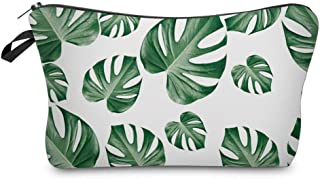 Utility Palm Leaves Cute Pencil Case Holders, Large Capacity Student Pencil Pouch Bag, Zippered Stationary Case, Make Up C...