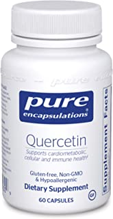 Pure Encapsulations - Quercetin - Hypoallergenic Supplement with Bioflavonoids for Cellular, Cardiometabolic and Immune He...