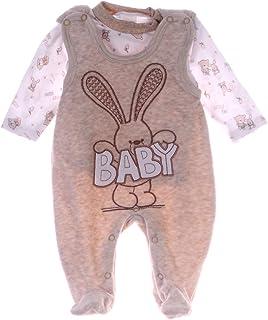 A&O Malgosia Baby Strampler Set Hase Nicki Stramplerhose & Shirt 50 56 62 68 74 Unisex