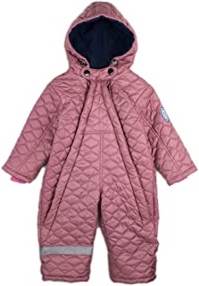 DASTI Kid s Wintersnow Fleece Hooded Bunting Happy Mood Kids with a Heater 4f24b5db4