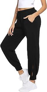 Aibrou Women's Jogger Pants Soft Tracksuit Bottoms Workout Running Sweatpants Athletic Lounge Sports Trousers Sportswear w...