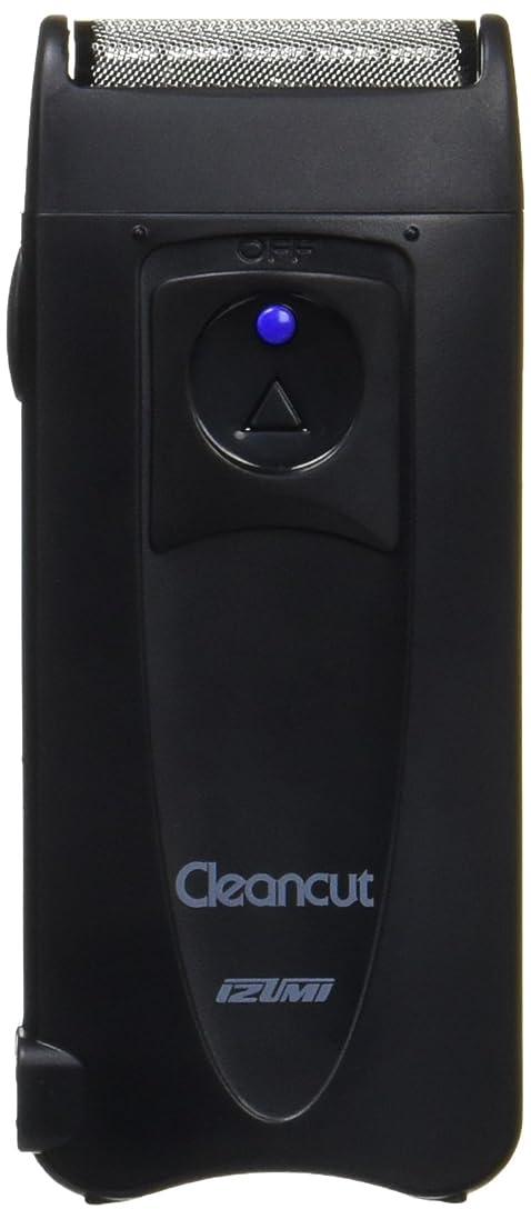 子孫喉が渇いた国民IZUMI 往復式シェーバー 1枚刃 ブラック IZF-4359-K