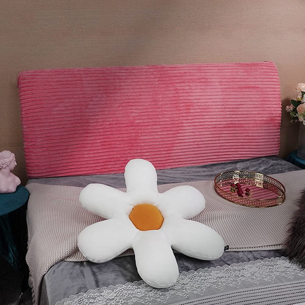 YYQQ Bed Headboard Slipcover Max 66% OFF Covers Elastic Velvet Product