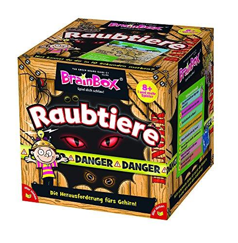 Brain Box 94953 Raubtiere, Lernspiel, Quizspiel für Kinder ab 8 Jahren