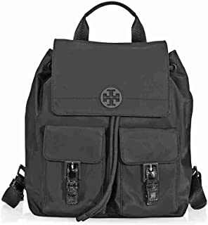 Tory Burch Quinn Nylon Backpack - Black