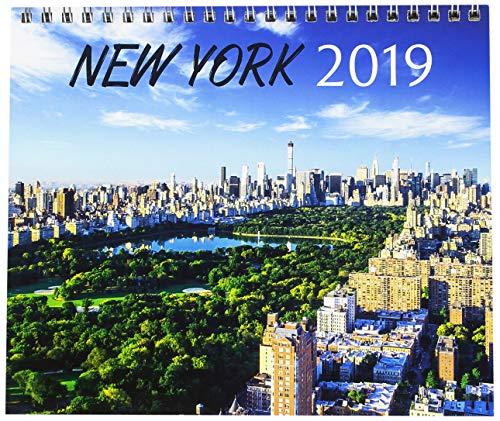 Grupo Erik Editores cs19002 – kalendarz na biurko 2019 Nowy Jork, 17 x 20 cm