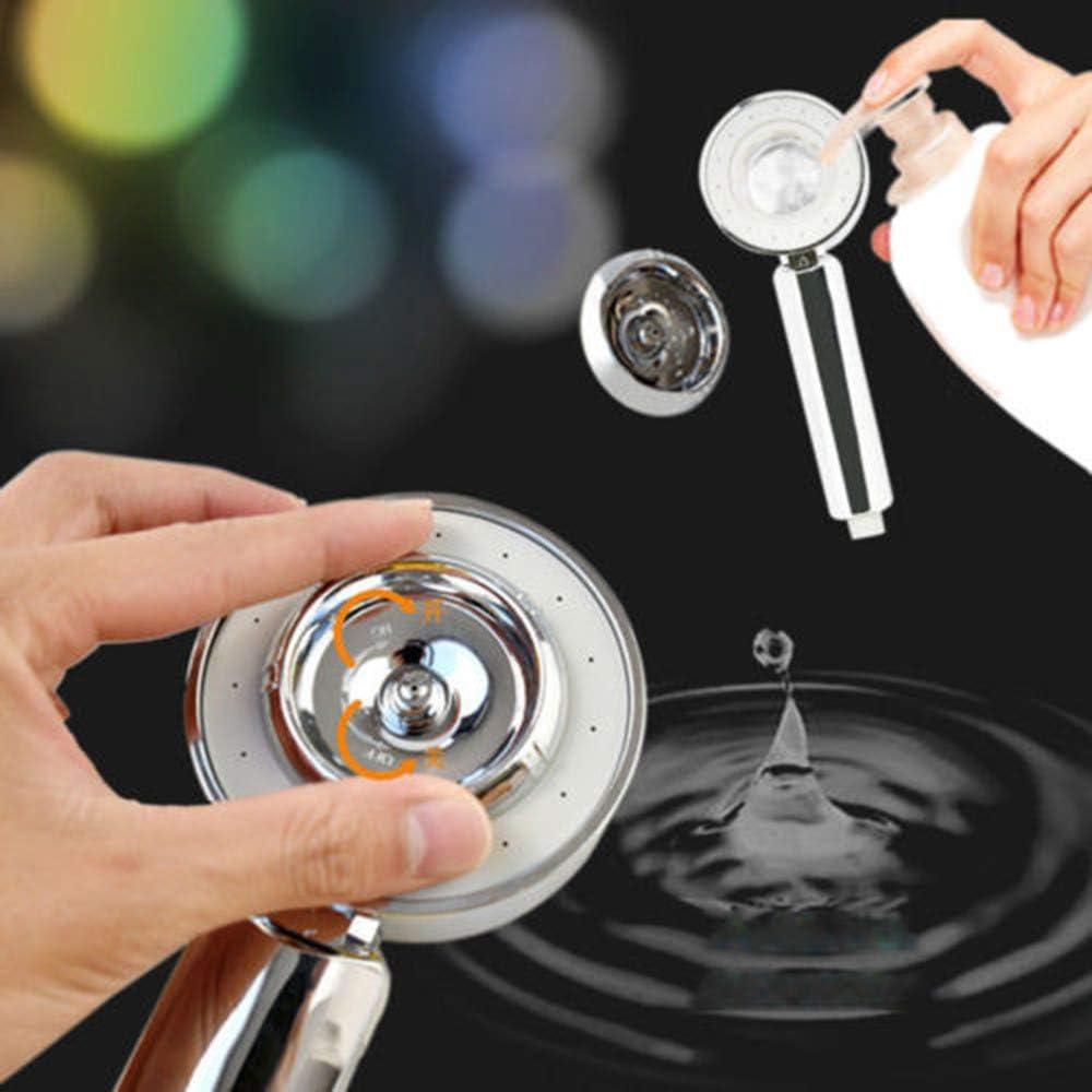 QIUMINGSS Duschkopf mit Schlauch Regendusche Duschkopfhalterung mit Schlauch und Halterung Duschkorb zum H/ängen F