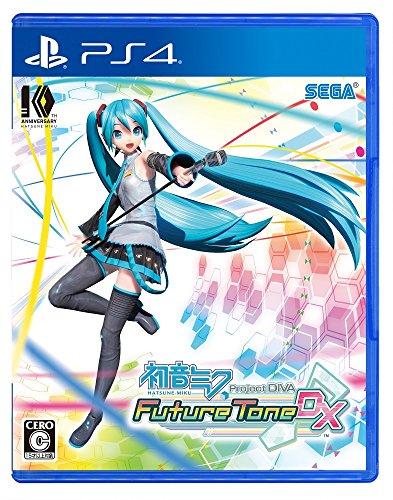 [PS4]Hatsune Miku Project DIVA Future Tone DX[Japan Import]
