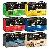 Bigelow Bigelow Black Tea 6 Flavor Variety Pack, 20 Count Box (Pack of 6) Caffeinated Black Teas,...
