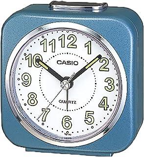 Casio Tq-158-2 Table Top Travel Alarm Clock Blue