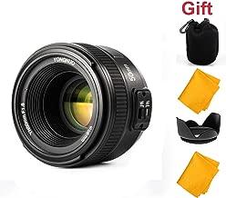 YONGNUO 50mm F1.8 1:1.8 Standard Prime Lens Large Aperture Auto Manual Focus AF MF for Nikon DSLR Camera