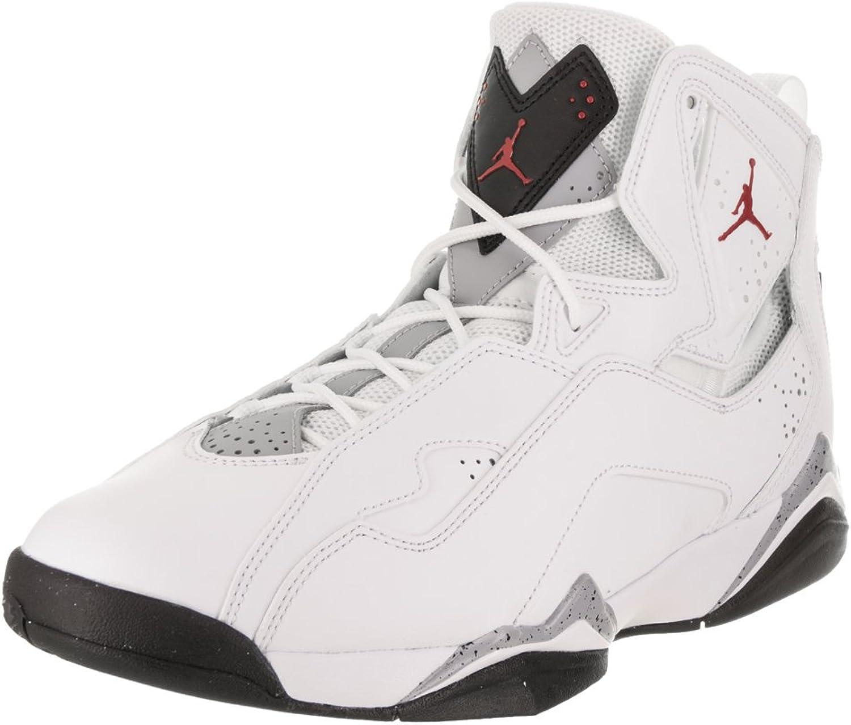 Nike Jordan True Flight 104WHT RED BLK GREY 11.5