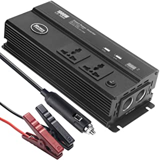 90GJ Car inverter 12V-220V200W 4 UBS multi-socket best companion for car travel