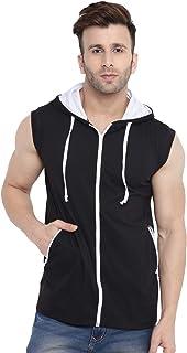 GRITSTONES Men's Black/White Half Sleeves Printed Round Neck T Shirt-GSJKT1793BLKWHT