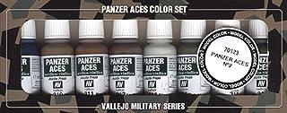 Vallejo Panzer Aces No #2 Paint Set, 17ml