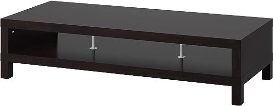 IKEA 201.053.41 Lack TV Stand, Black-Brown