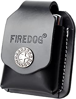 Cigarette Lighter Case 1PC Genuine Leather Lighter Pouch Hoder with Belt Loop CL27