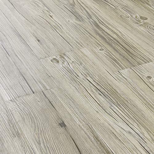 [neu.haus] Suelo de vinilo autoadhesivo set ahorro (4m²) roble natural claro (28 láminas de PVC = 3,92 m²) suelo de diseño estructurado