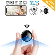 $35 » CreateGreat Mini Spy Camera Wireless Hidden WiF Camera HD 1080P Portable Home Security Cameras Nanny Cam Small Indoor Video Recorder Motion Activated Night Vision