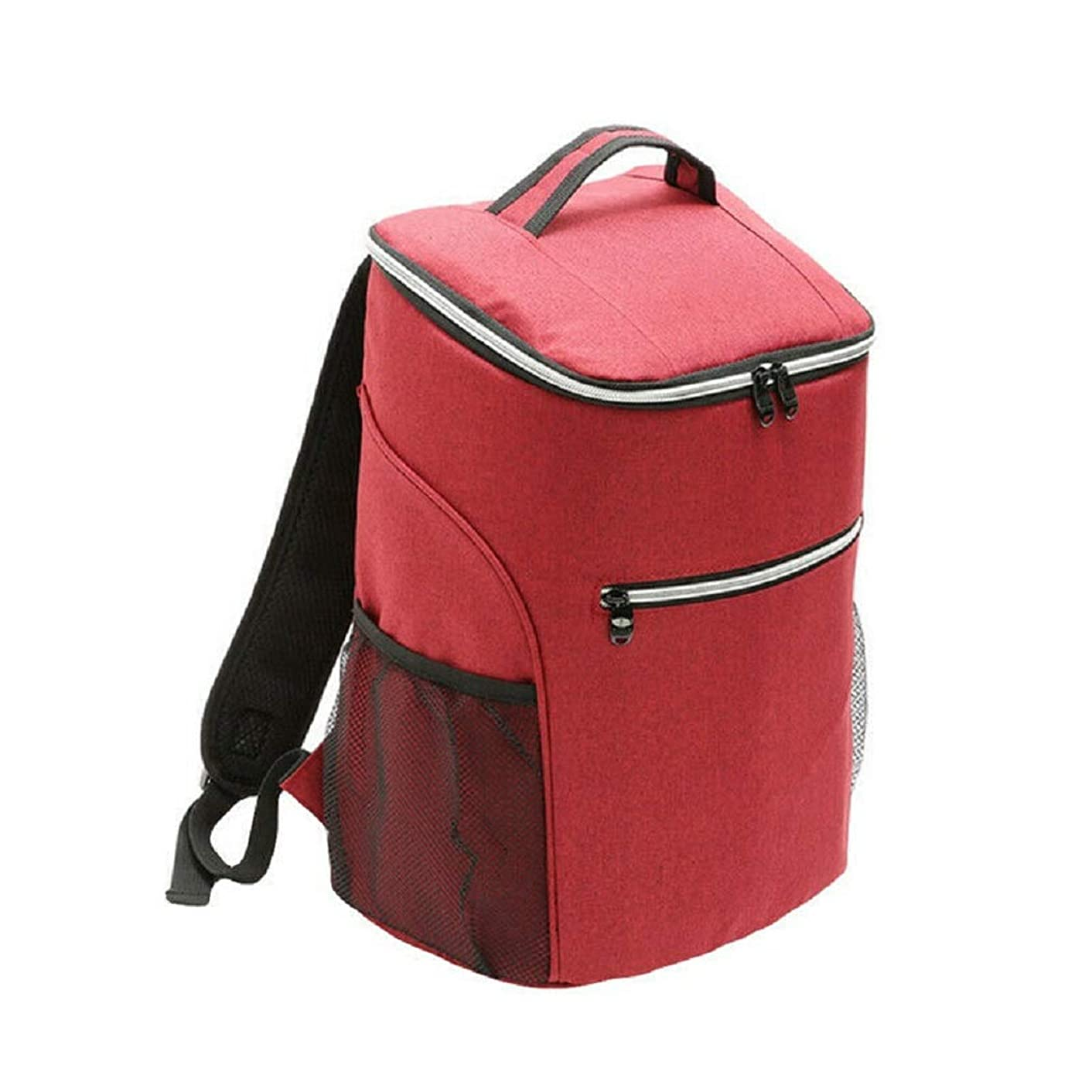 20L Large Cooler Bag, Thermal Bag, Lunch Bag, Picnic Box Insulated Cooler Backpack Red by SHG