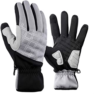 Winter Thermal Gloves Touch Screen Water Resistant Warm Glove Windproof for Running Cycling Driving Phone Texting Outdoor ...