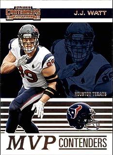 2019 NFL Contenders MVP Contenders #20 J.J. Watt Houston Texans Official Panini Football Trading Card